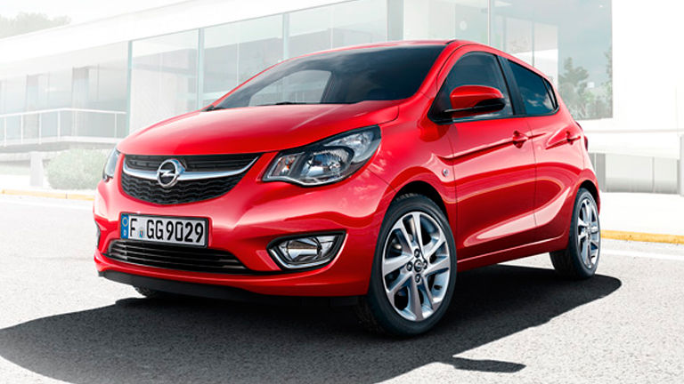 Opel Karl, domina la ciudad